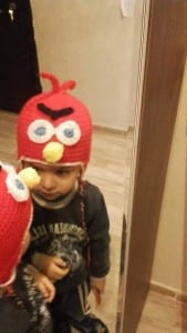 Angry Birds Örgü Şapka Yapılışı 2