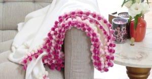 Battaniye Kenarına Ponpon Nasıl Yapılır ?
