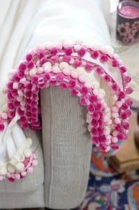 Battaniye Kenarına Ponpon Nasıl Yapılır ? 5