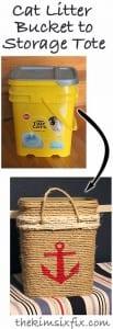 DIY, Hasır Halattan Çamaşır Sepeti Yapılışı 14
