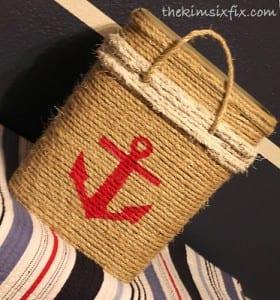 DIY, Hasır Halattan Çamaşır Sepeti Yapılışı 3