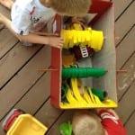 DIY, Karton Kutudan Oto Yıkama Yapılışı 1