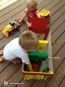 DIY, Karton Kutudan Oto Yıkama Yapılışı 2