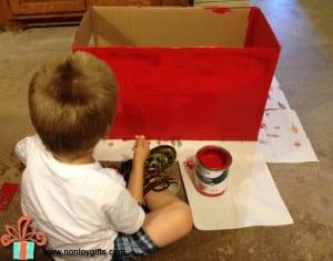 DIY, Karton Kutudan Oto Yıkama Yapılışı