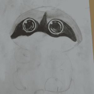 Kara Kalem Resim Çalışmaları 1