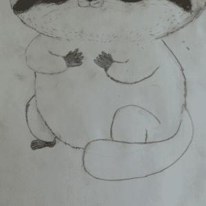 Kara Kalem Resim Çalışmaları 2