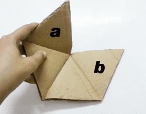 Karton Origami Organizer Yapılışı 9