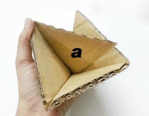 Karton Origami Organizer Yapılışı 10