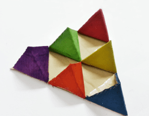 Karton Origami Organizer Yapılışı 11