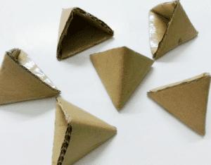 Karton Origami Organizer Yapılışı 4