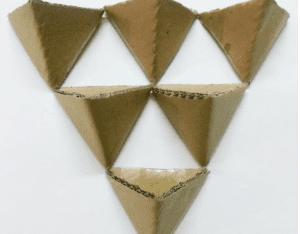 Karton Origami Organizer Yapılışı 7