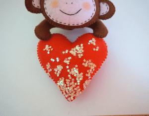 Keçe Aşık Maymun Yapılışı 14