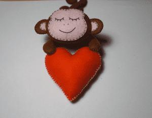 Keçe Aşık Maymun Yapılışı 15
