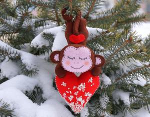 Keçe Aşık Maymun Yapılışı 16