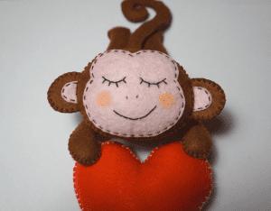 Keçe Aşık Maymun Yapılışı 24