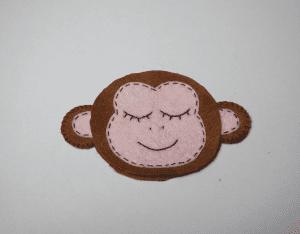 Keçe Aşık Maymun Yapılışı 31