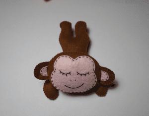 Keçe Aşık Maymun Yapılışı 2
