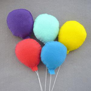 Keçe Balon Yapılışı