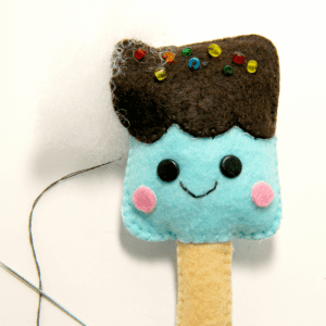 Keçe Dondurma Yapılışı 9