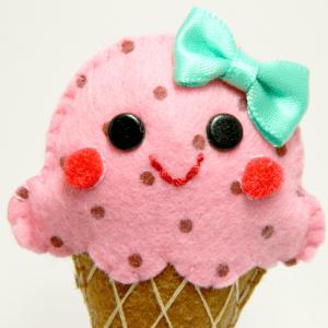 Keçe Dondurma Yapılışı 12