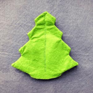 Keçeden Çam Ağacı Yapılışı 11