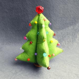 Keçeden Çam Ağacı Yapılışı 5