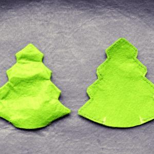 Keçeden Çam Ağacı Yapılışı 6