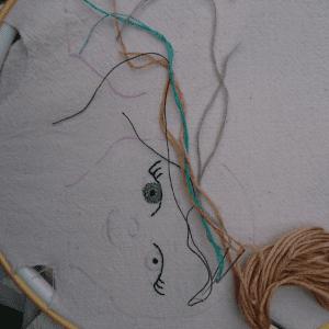 Kumaş Oyuncaklara Yüz Yapılışı 10