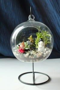 Minyatür Bahçe Yapılışı 5