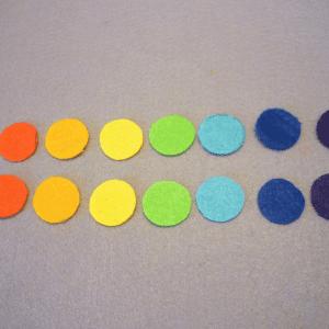 Montessori Gökkuşağı Renkleri Öğrenme Oyunu 9
