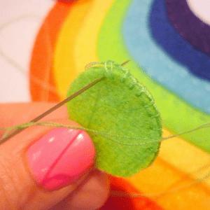 Montessori Gökkuşağı Renkleri Öğrenme Oyunu 10