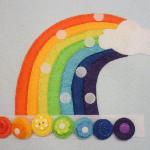 Montessori Gökkuşağı Renkleri Öğrenme Oyunu 12