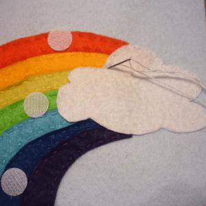 Montessori Gökkuşağı Renkleri Öğrenme Oyunu 4