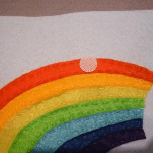 Montessori Gökkuşağı Renkleri Öğrenme Oyunu 5