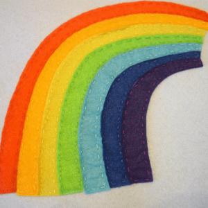 Montessori Gökkuşağı Renkleri Öğrenme Oyunu 6