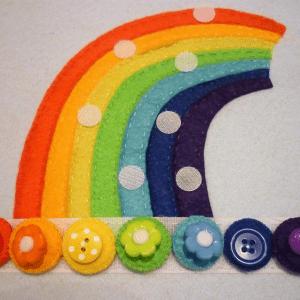 Montessori Gökkuşağı Renkleri Öğrenme Oyunu 7