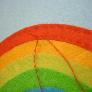 Montessori Gökkuşağı Renkleri Öğrenme Oyunu 8