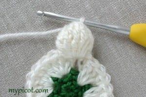 Motifli Kar Tanesi Bebek Battaniyesi Yapılışı 17