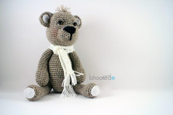 Videolu Amigurumi Ayi Teddy Bear Yapilisi - Mimuu.com