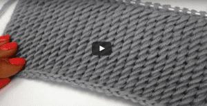 Videolu Diyagonal Örgü Modeli Nasıl Yapılır ?