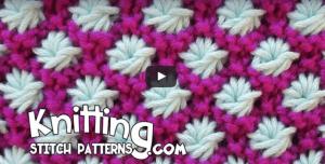 Videolu İki Renkli Yıldız Çiçeği Örgü Modeli Yapılışı