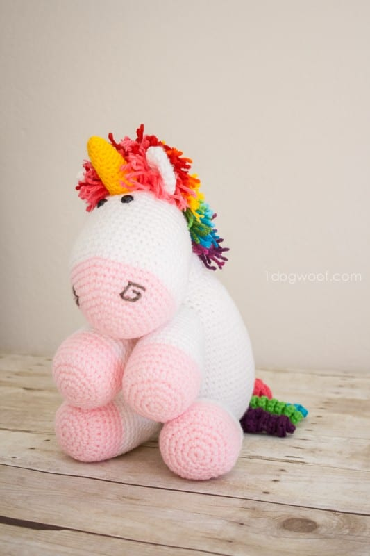 Amigurumi Pony Free Pattern 9