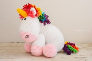Amigurumi Pony Free Pattern 10