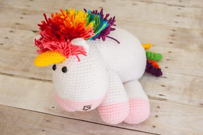 Amigurumi Pony Free Pattern 12