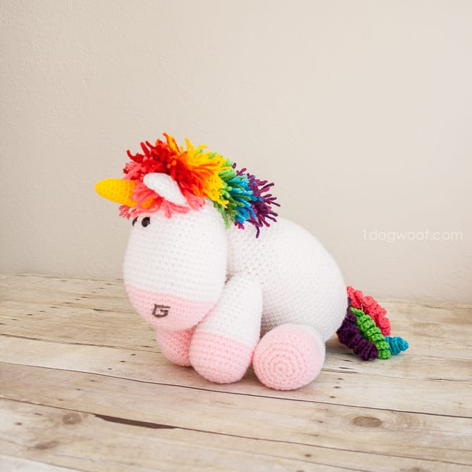Pony Amigurumi Patron Gratis : Amigurumi Pony Free Pattern - Mimuu.com