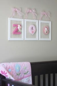 Bebek Odası İçin İsim Süsleme Yapılışı 16