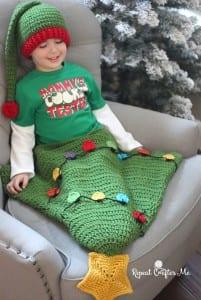 Çam Ağacı Bebek Battaniyesi Yapılışı