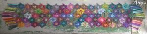 Çiçek Şal Yapılışı 15