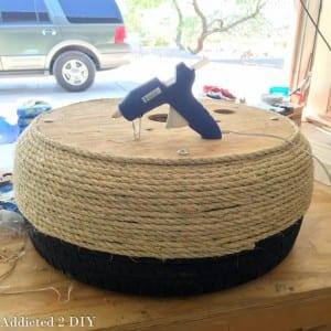 DIY, Araba Lastiğinden Saksı Yapılışı 10