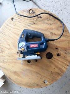 DIY, Araba Lastiğinden Saksı Yapılışı 4